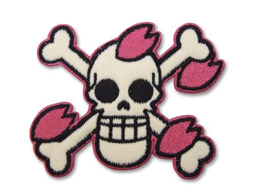 ONE PIECE/ワンピース/ヒルルク海賊旗脱着式ワッペン