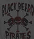黒ひげ海賊団Tシャツ