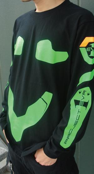 エヴァンゲリオン/EVANGELION/劇場版初号機ロングスリーブTシャツ