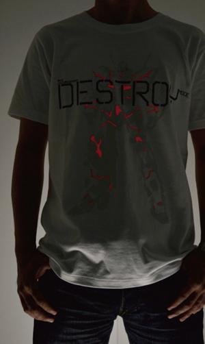 ガンダム/機動戦士ガンダムUC(ユニコーン)/デストロイモードTシャツ