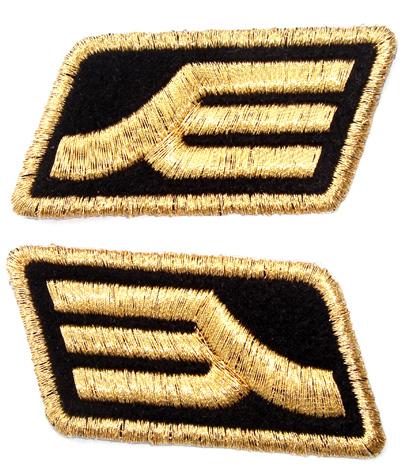 ガンダム/機動戦士ガンダム/ジオン軍階級章ワッペン