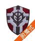 公国軍旗盾型脱着式ワッペン
