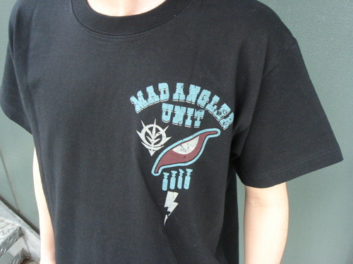 ガンダム/機動戦士ガンダム/マッドアングラー隊Tシャツ
