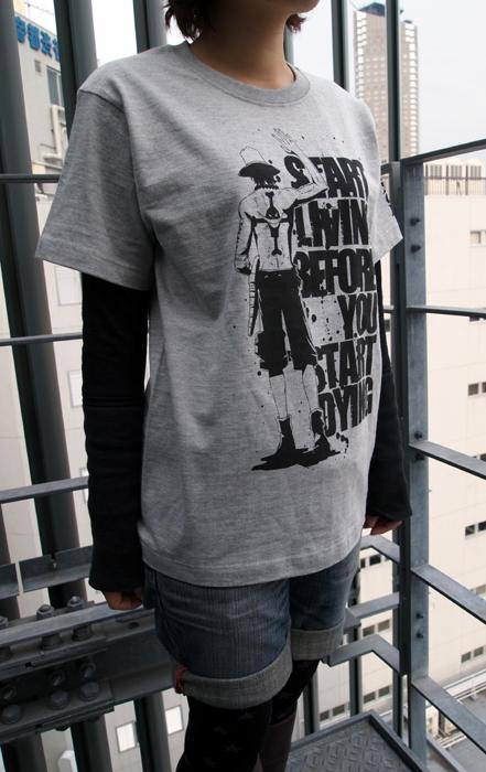 ONE PIECE/ワンピース/去り行くエースTシャツ