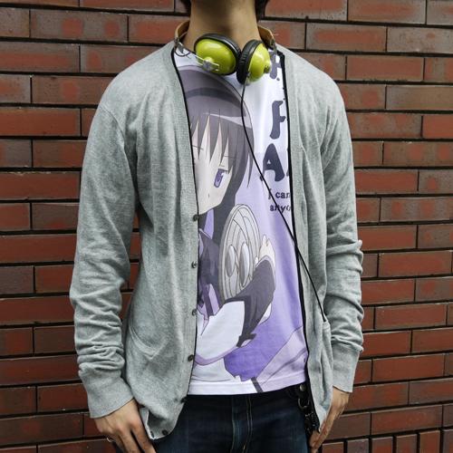 魔法少女まどか☆マギカ/魔法少女まどか☆マギカ/暁美ほむらフルグラフィックTシャツ