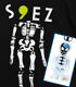 ★限定★s9ez_swinging_skeleton Tシャ..