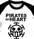 ハートの海賊団ラグランTシャツ