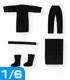 POC237【1/6サイズドール用】PNS黒子セット