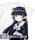 黒猫フルグラフィックTシャツ