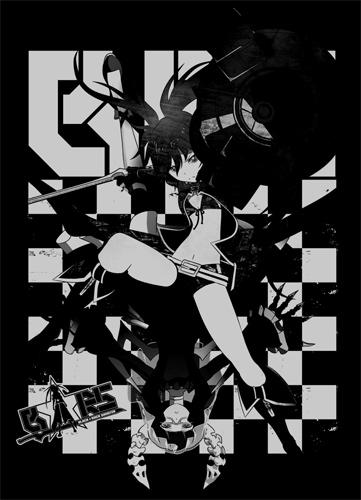 ブラック★ロックシューター/ブラック★ロックシューター/BRS&DMTシャツ