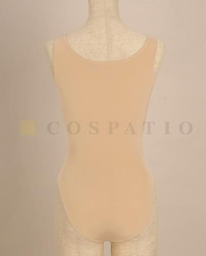 メーカーオリジナル/COSPATIOオリジナル/肌色レオタード(ラウンド袖無)