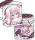 ゼロの使い魔/ゼロの使い魔F/ルイズフタつきマグカップ