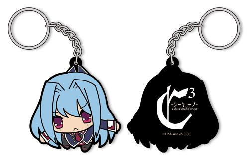 C3-シーキューブ-/C3-シーキューブ-/フィア・キューブリックつままれキーホルダー
