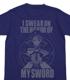 Fate/ZeroセイバーTシャツ