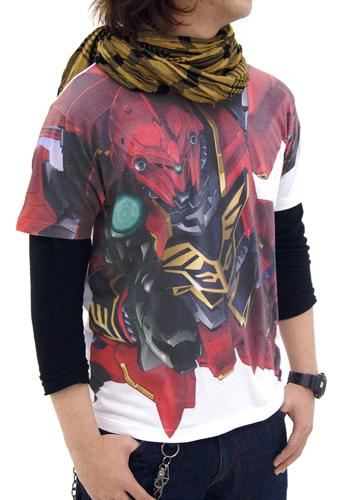 ガンダム/機動戦士ガンダムUC(ユニコーン)/シナンジュフルグラフィックTシャツ