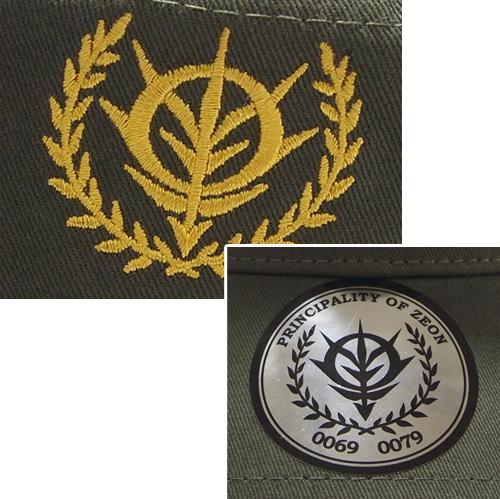 ガンダム/機動戦士ガンダム/ジオン刺繍ワークキャップ