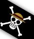 麦わらの一味 海賊旗ビッグタオル