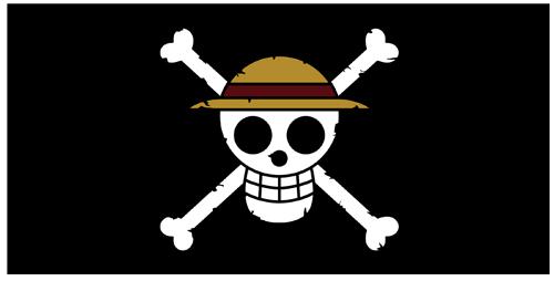 ONE PIECE/ワンピース/麦わらの一味 海賊旗ビッグタオル
