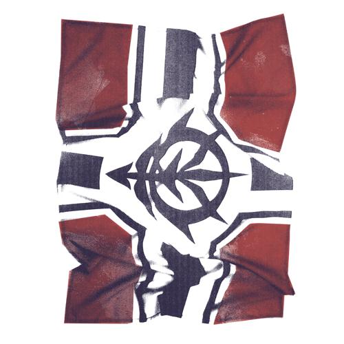 ガンダム/機動戦士ガンダム/ジオン公国軍旗フォトプリントTシャツ