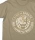 ライオンマーク砂漠迷彩Tシャツ