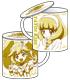 プリキュア/スマイルプリキュア!/キュアピースクッションカバー