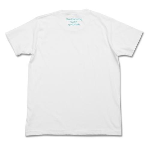 初音ミク/初音ミク/初音ミク ぷちでびる ver. 金魚Tシャツ