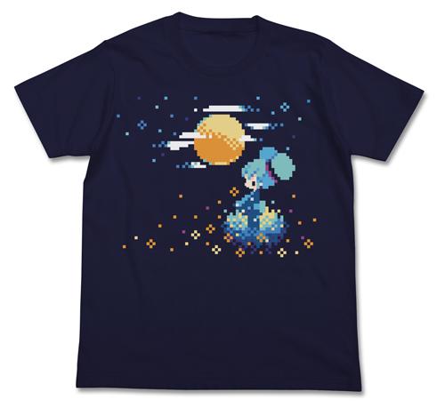 初音ミク/初音ミク/初音ミク ぷちでびる ver. 月明かりTシャツ
