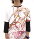 囚われのアスナフルグラフィックTシャツ