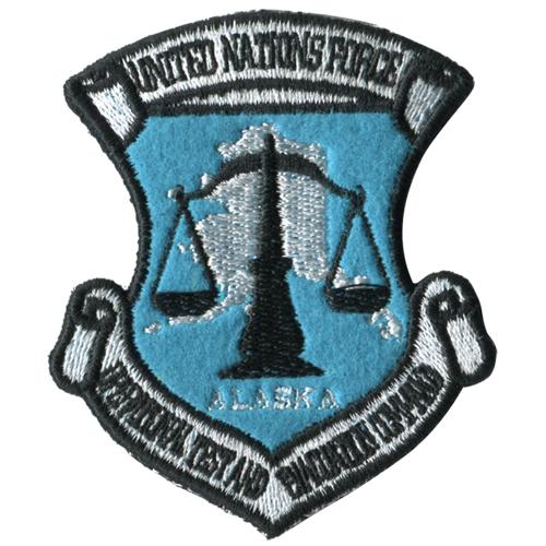 マブラヴ/トータル・イクリプス/アニメ版 国連軍作戦試験部隊章脱着式ワッペン