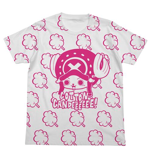ONE PIECE/ワンピース/チョッパーとわたあめTシャツ