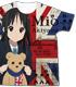 映画「けいおん!」秋山澪フルグラフィックTシャツ