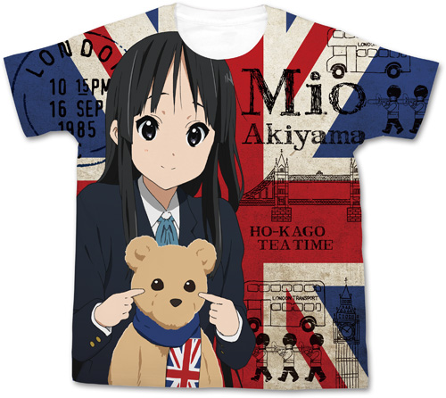 けいおん!/映画「けいおん!」/映画「けいおん!」秋山澪フルグラフィックTシャツ