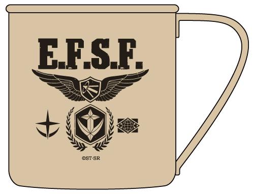 ガンダム/機動戦士ガンダム/地球連邦軍ステンレスマグカップ