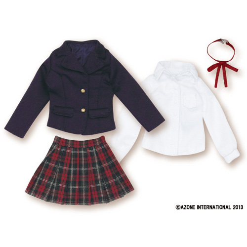AZONE/Pureneemo Original Costume/PNM097【1/6サイズドール用】PNM聖ポートルダム高等部冬制服set