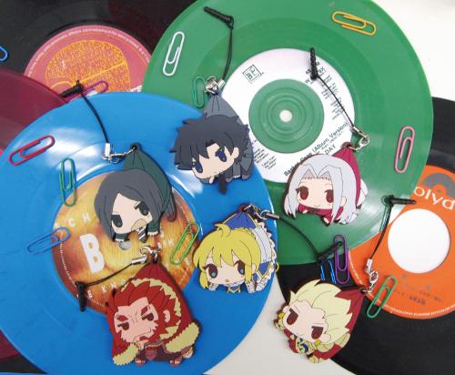 Fate/Fate/Zero/アイリスフィールつままれストラップ