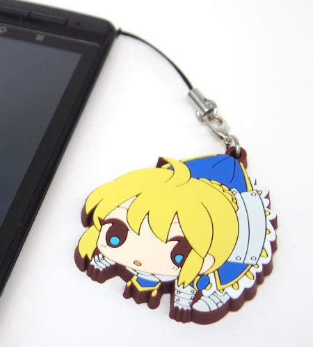 Fate/Fate/Zero/セイバーつままれストラップ