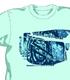 攻殻機動隊/攻殻機動隊 STAND ALONE COMPLEX/笑い男ウォールペイント Tシャツ