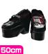 AZONE/50 Collection/FAR139【50cmドール用】BlackRavenClothingストラップシューズ