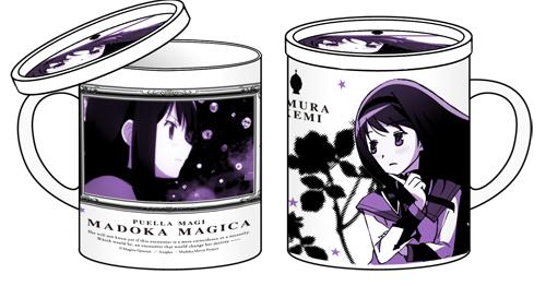 魔法少女まどか☆マギカ/劇場版 魔法少女まどか☆マギカ/劇場版暁美ほむらフタつきマグカップ