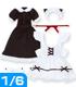 AZONE/Pureneemo Original Costume/AKT088【1/6サイズドール用】シンプルローカットスニーカー