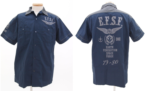 ガンダム/機動戦士ガンダム/★限定★地球連邦軍ボーリングシャツ