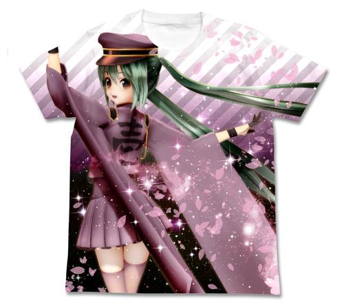 初音ミク/千本桜/あぴミク千本桜フルグラフィックTシャツ
