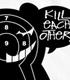 ダンガンロンパ/ダンガンロンパ 希望の学園と絶望の高校生 The Animation/モノクマターゲットTシャツ