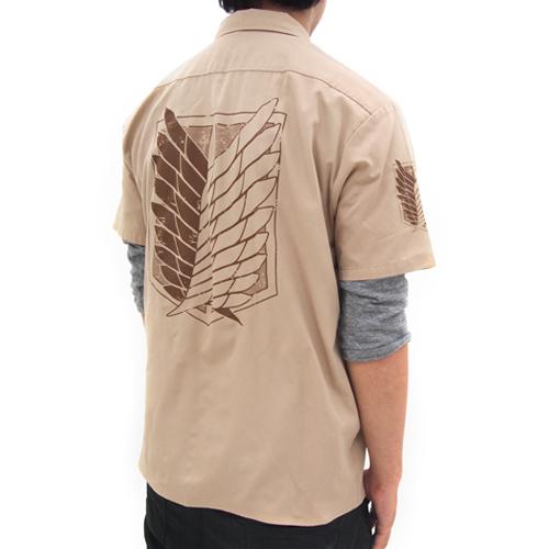 進撃の巨人/進撃の巨人/★限定★調査兵団ワークシャツ