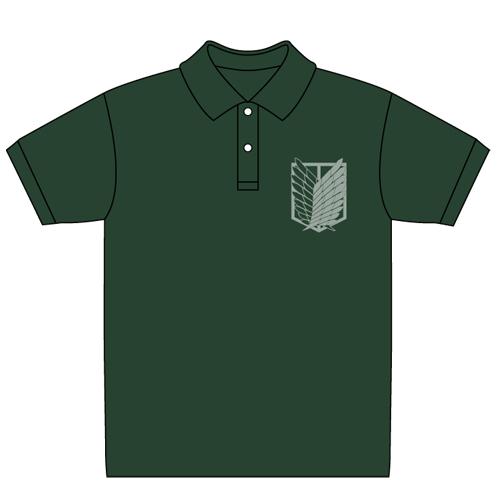 進撃の巨人/進撃の巨人/調査兵団ポロシャツ