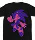 ソニックボーダーグラフィックTシャツ