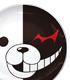ダンガンロンパ/ダンガンロンパ 希望の学園と絶望の高校生 The Animation/モノクマフェイス絵皿