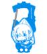 ★Loppi限定★美樹さやかアクリルカラビナ つままれVer.